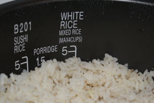 Finished rice