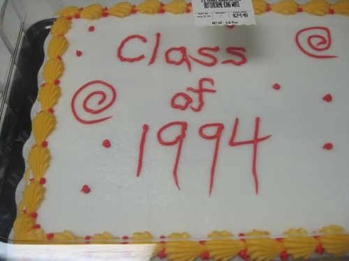 Two Years Of High School I Thought Id Share One Picture With You That Sums Up My Experience At Good Old Carthage Central Awesome Cake